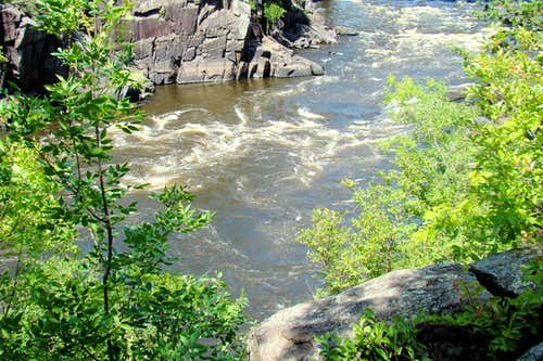 Rapids on the St. Croix River