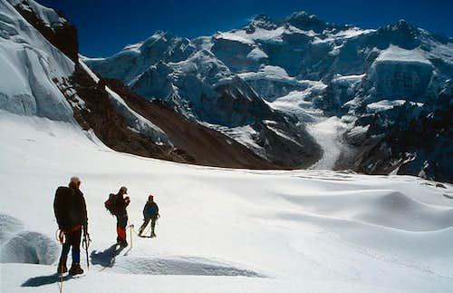 Descent from Peak 5950