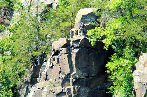 Interstate Park Rock Climbers