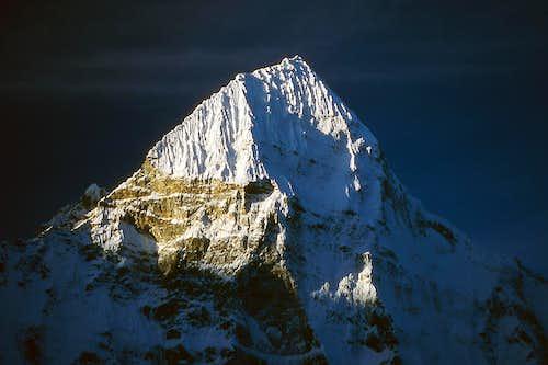Summit of Wedge Peak, dawn