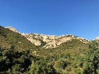 Arlington Peak and Southeast ridge