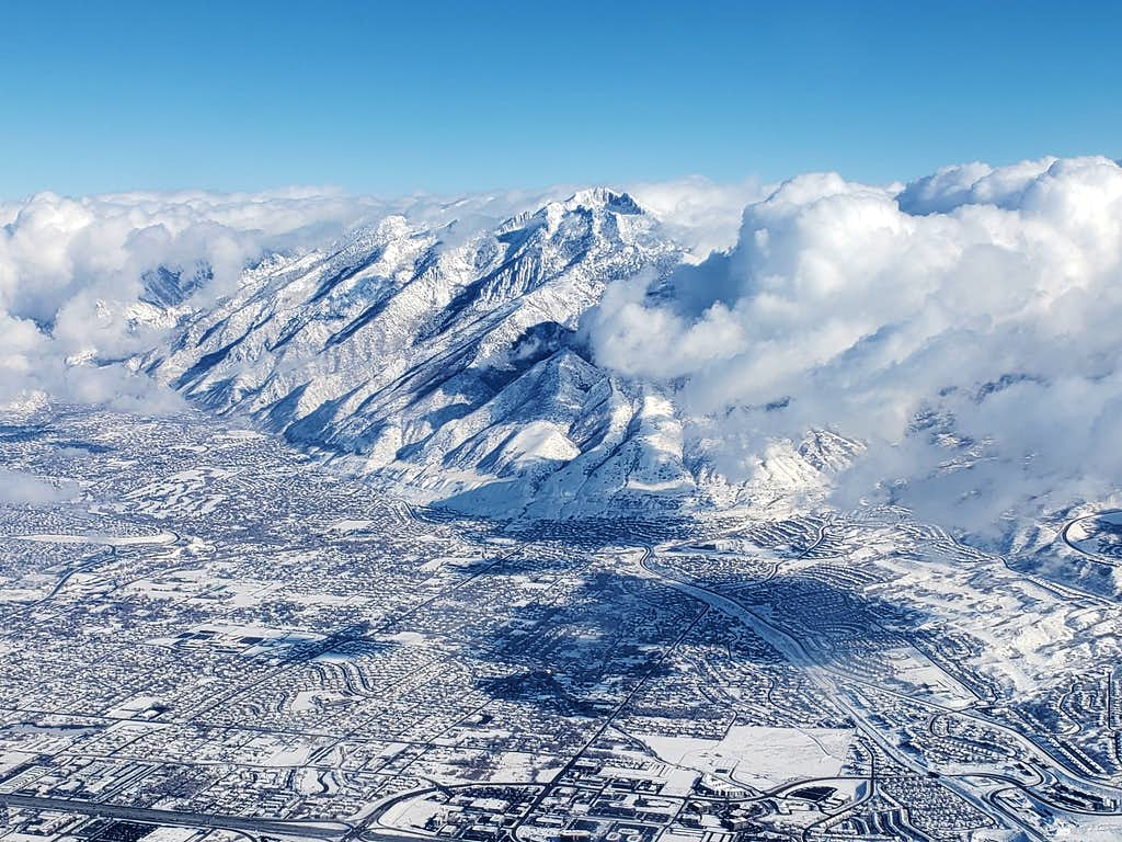 Lone Peak & Salt Lake City
