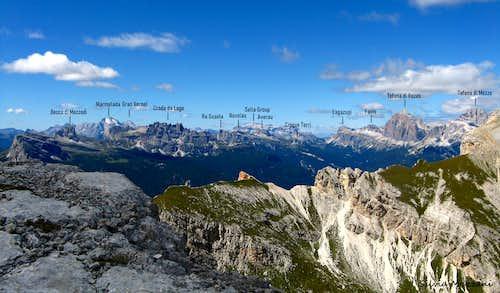 Torre dei Sabbioni annotated panorama