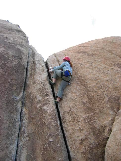 Climbers with smaller...