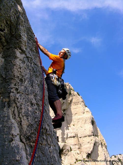 Climbing En Vau, Le Calendal