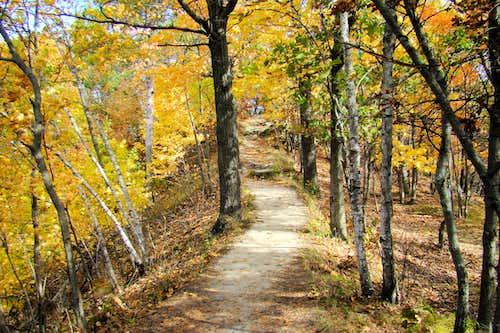 A South Side Trail on Mt. Simon