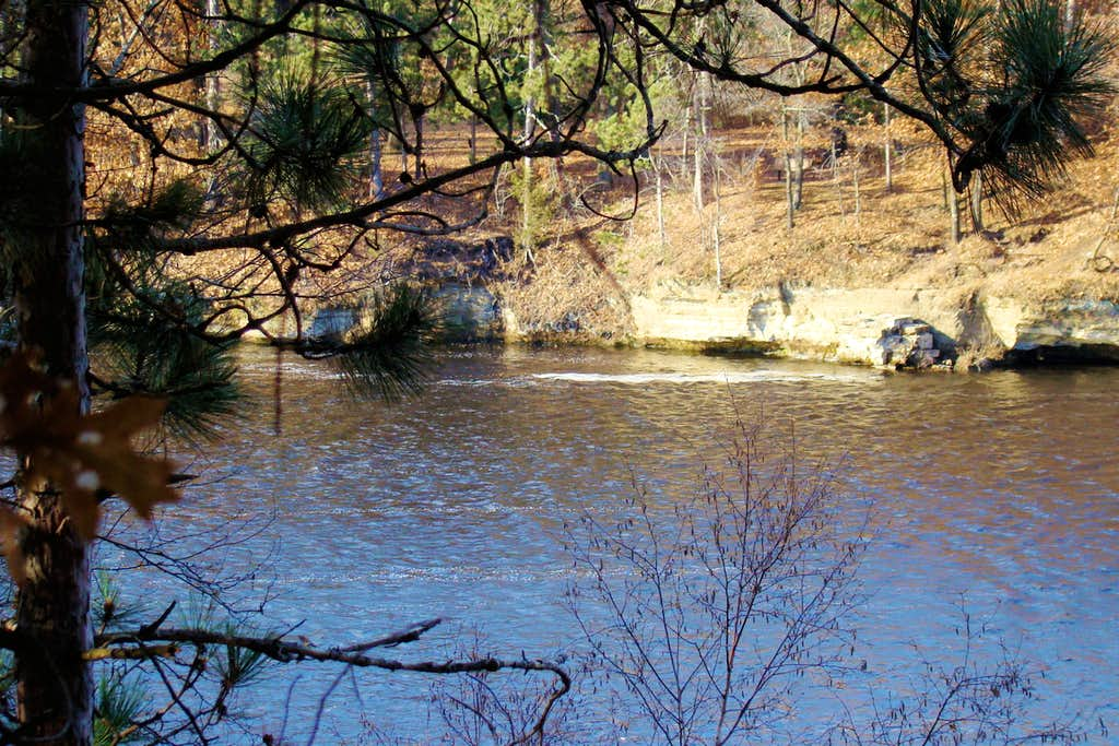 Upper Edge of the Former Dells on the Chippewa River