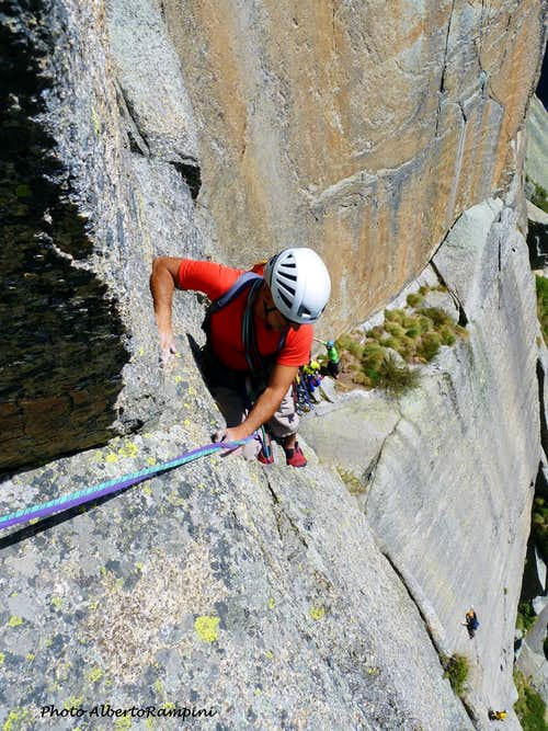 Climbing on Caporal