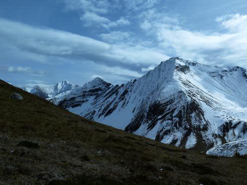 Highwood Ridge and Grizzly Peak