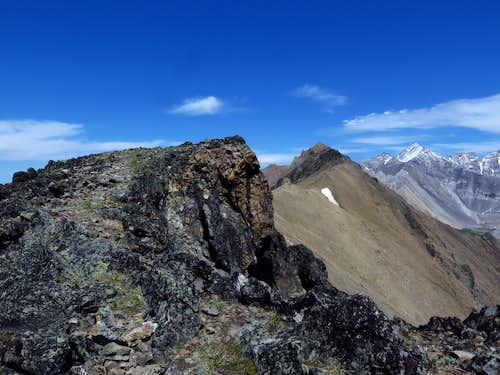 Grizzly Ridge crest
