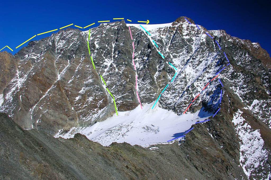 Western Face of Mont Velan <i>(3734m)</i>