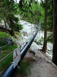 Pipe Bridge near Grächen