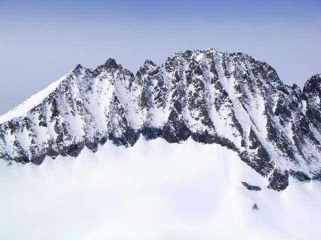 Alpine view of Disappointment...