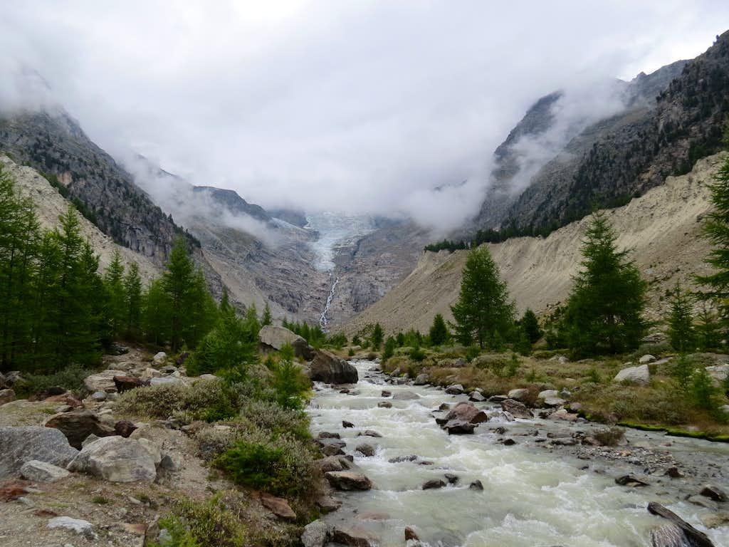 Europaweg: upper valley of Riedbach
