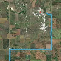 Incorrect route via Google Maps from Bowman, ND to White Butte, Chalky Butte, ND