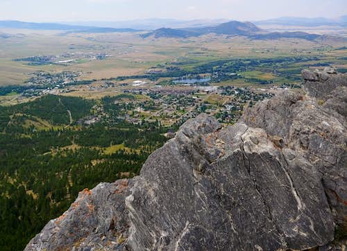 View of Helena from Ansley's Way