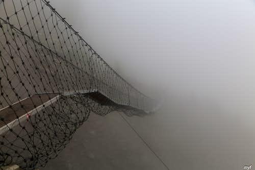 Europaweg: Small Suspension Bridge