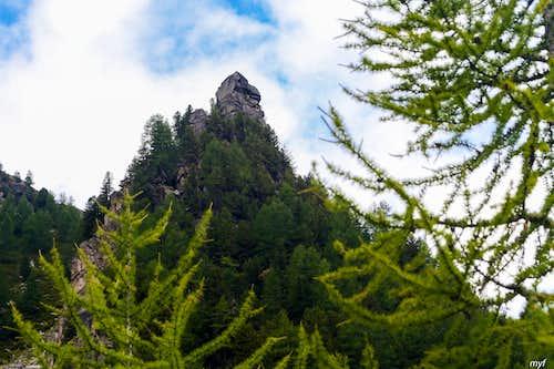 Europaweg: rock castle