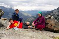 Europaweg: top of Grathorn