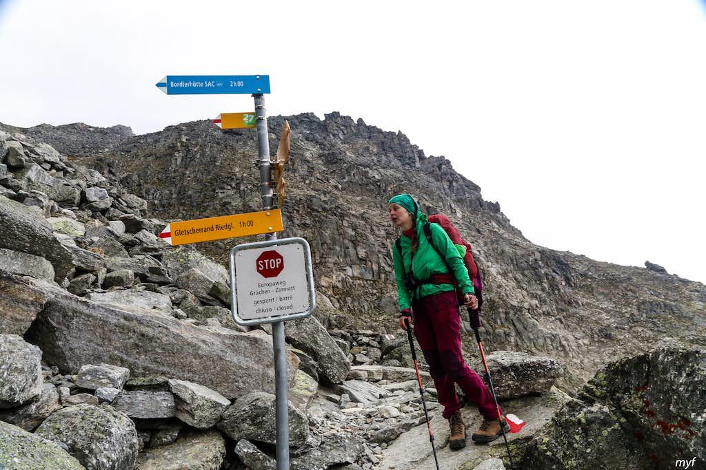 Europaweg: closed