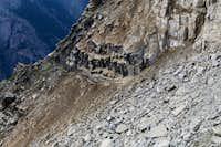 Europaweg: Grosse Graben after rockfall