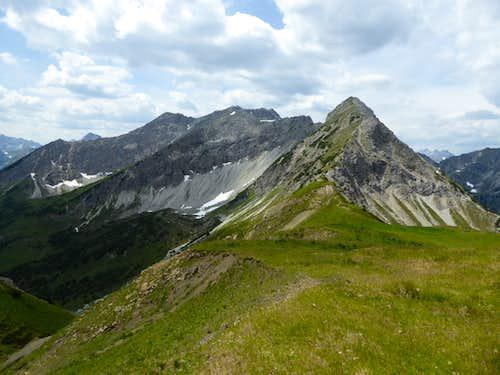 Vordere and Hintere Steinkarspitze