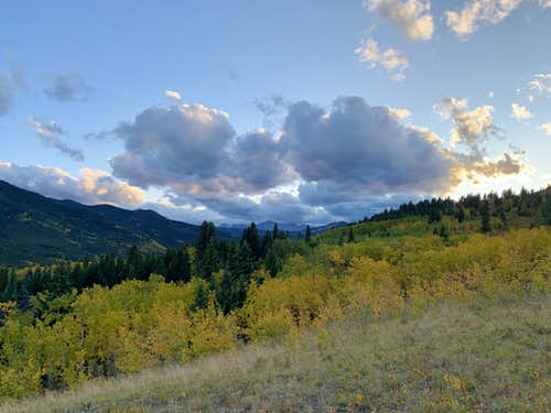 Looking up the Highwood Valley