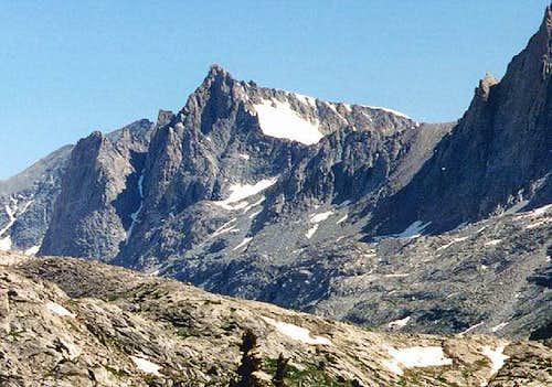 Sacajawea Glacier via Titcomb