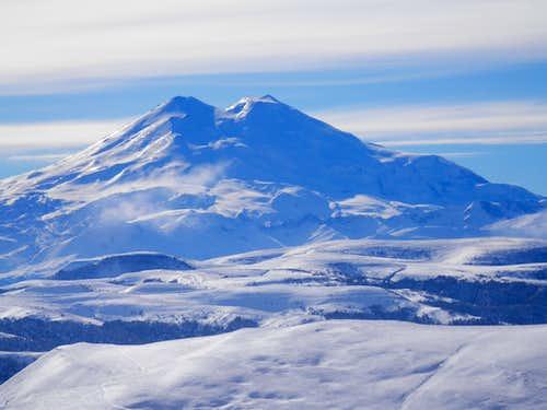 Elbrus from N