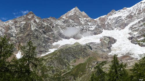 South of Monte Rosa