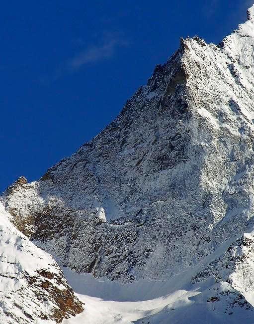 The Black Triangle 3378 m of Emilius...