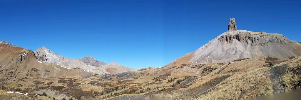 Pano- Cross Mountain Trail