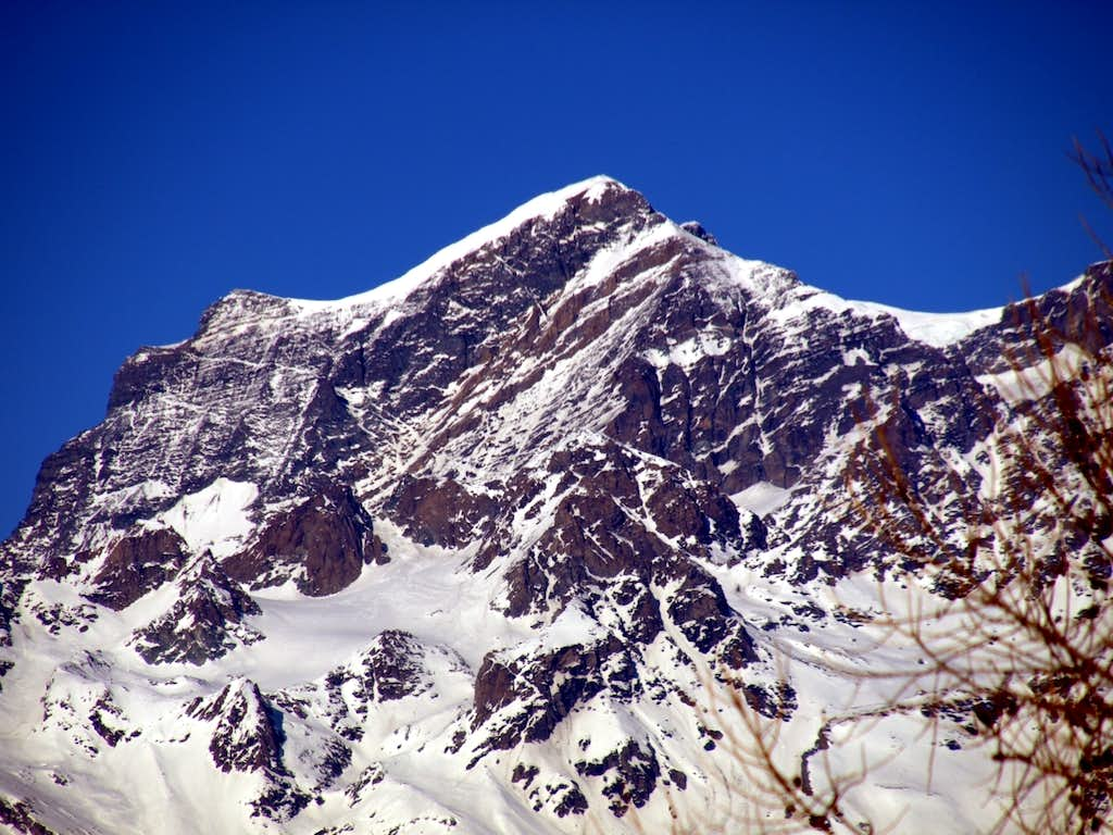 2020 Grand Combin from South