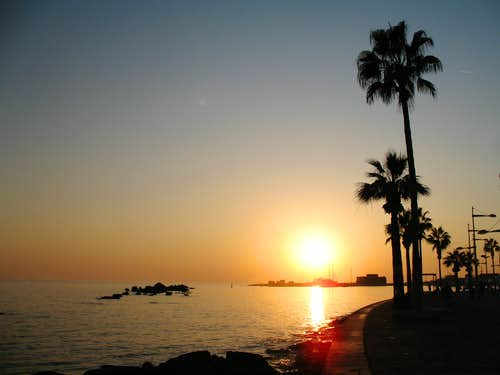 Blue Mediterranean views