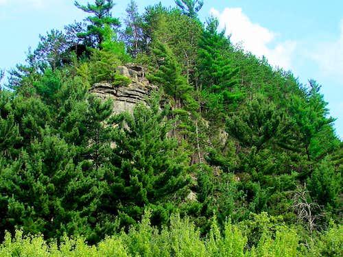 North Ridge of Mill Bluff