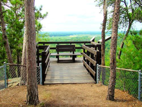 Mill Bluff Summit Deck