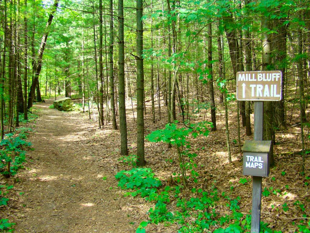 Mill Bluff Trailhead
