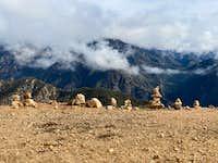 Cairns on Potato Mountain