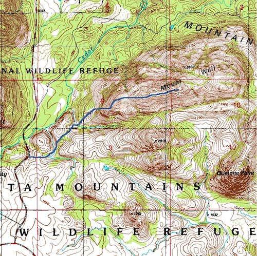 West Ridge of Mount Wall...