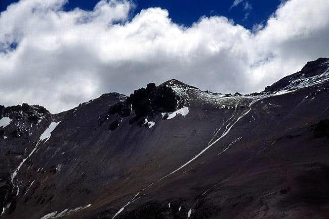 The Manso/Cuerno Ridge. In...