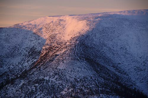 Mount Parenkye at sunrise