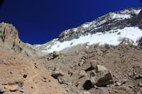 Heading up to Camp 1 from Plaza Argentina (Aconcagua)