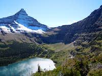 Old Man Lake and Flinsch Peak (Glacier N.P.)