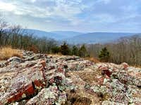 View from Taum Sauk Mountain into Mark Twain National Forest, Missouri