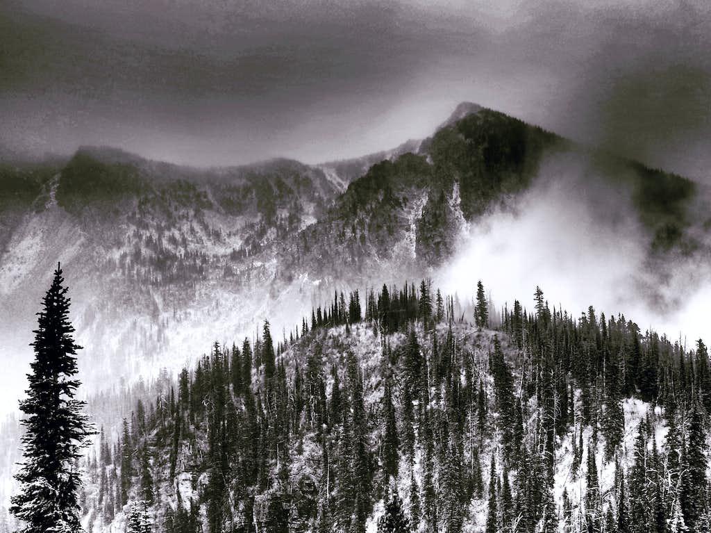 Mt Baptiste - Mark Hufstetler