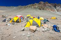 Camp 1 on Aconcagua