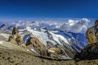 View from near camp 3 on Aconcagua