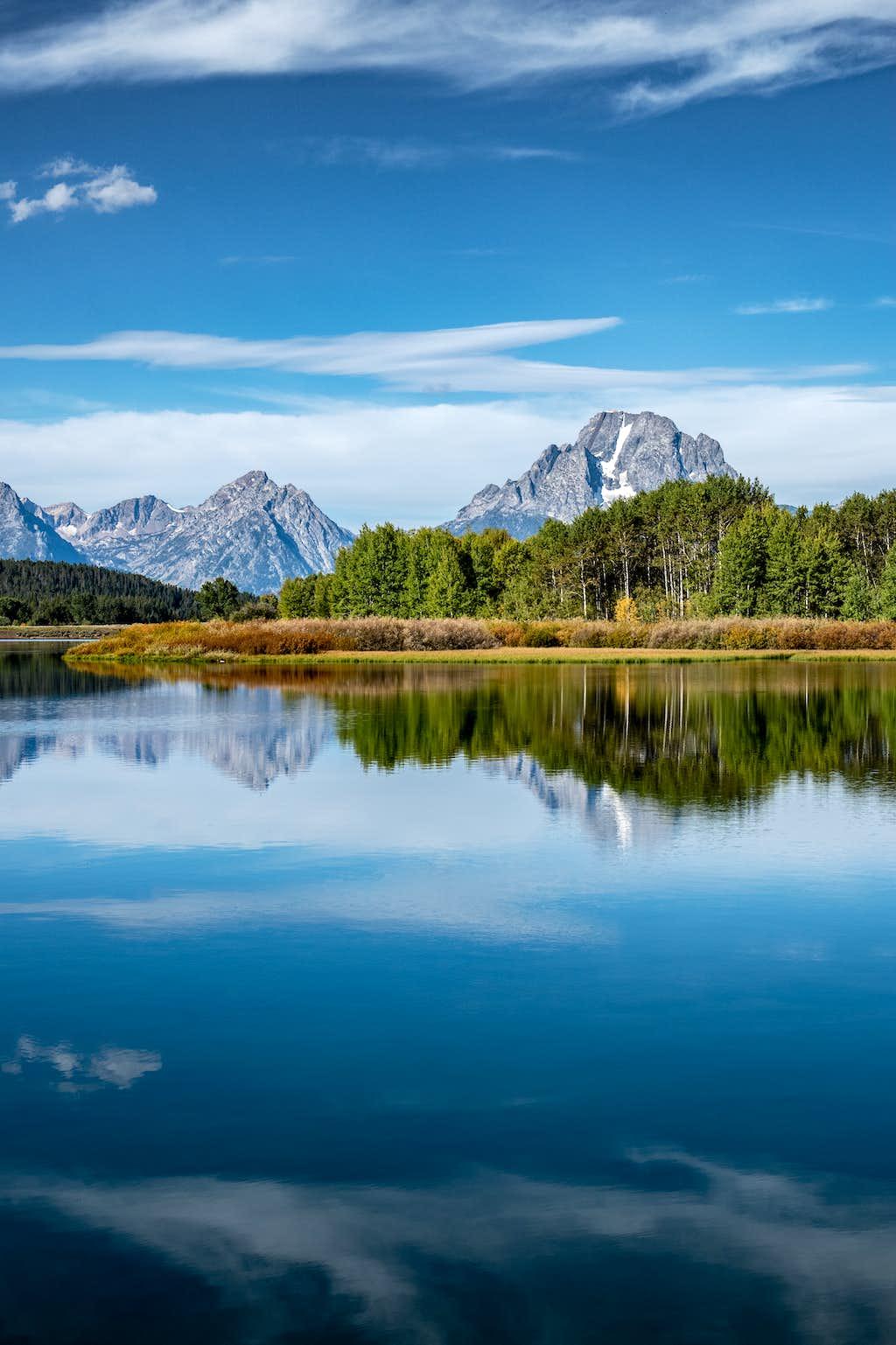 Oxbow Bend, Snake River, Mount Moran, Grand Teton National Park, Wyoming 9:19:19