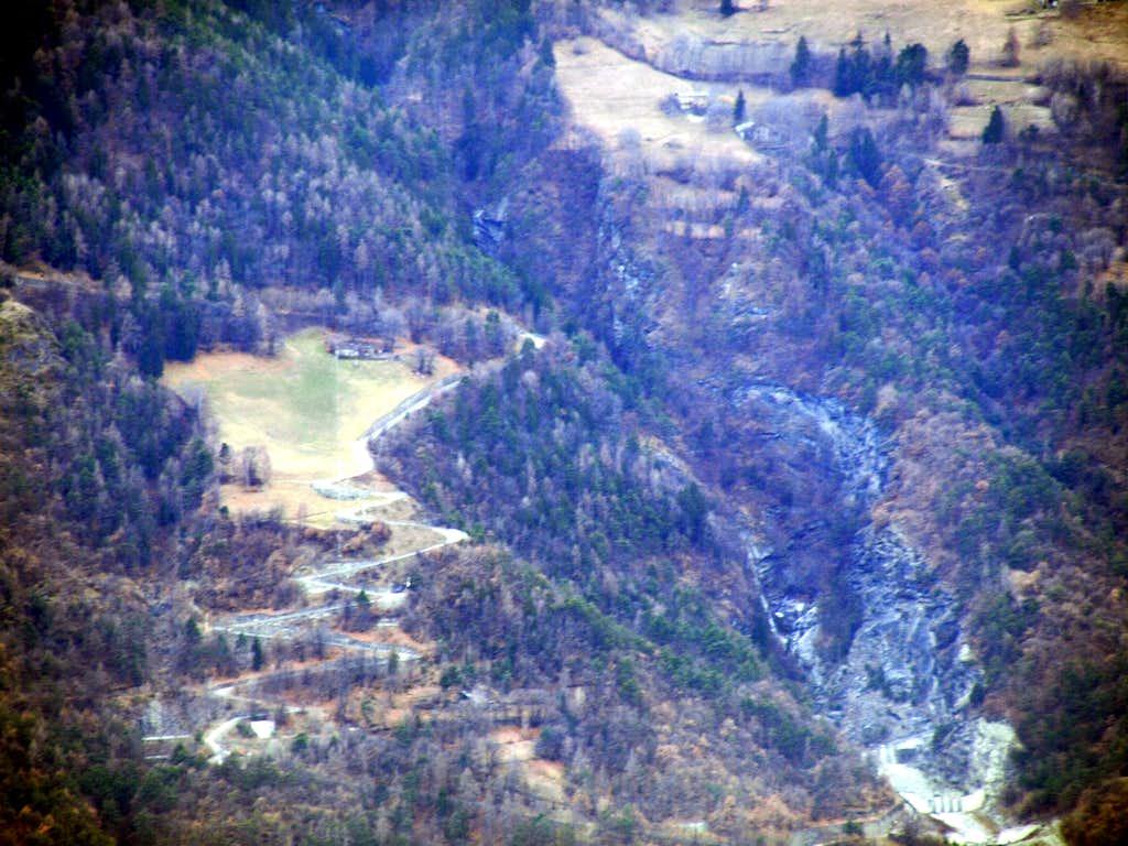 Gorge du Dard middle & lower parts