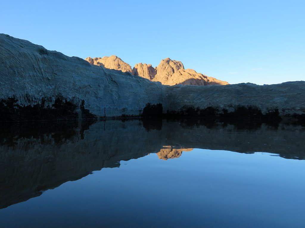 Reflection in the desert?
